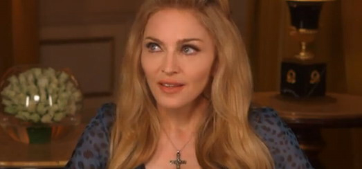 Madonna interview with Anna Pettinelli for RDS [13 minutes]