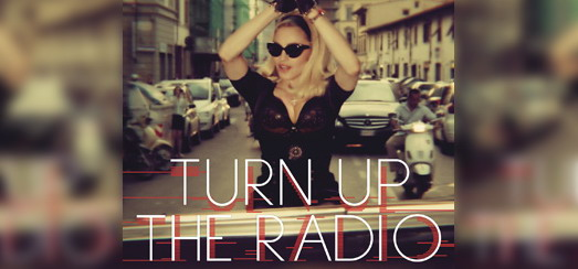"""Turn up the Radio"" Cover Revealed!!"