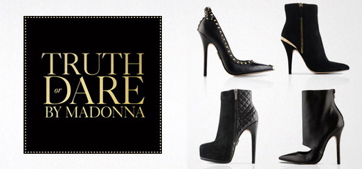 Selfridges Exclusively Launches Madonna's Truth Or Dare Shoe Collection