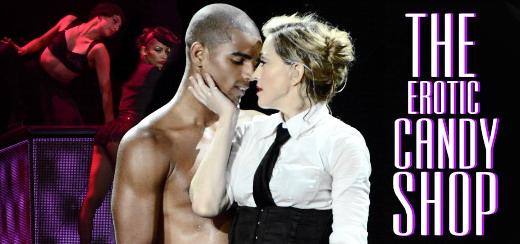 "Madonnarama presents ""The Erotic Candy Shop"" [MDNA Tour Video – HD]"