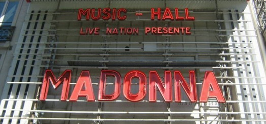 The MDNA Tour at the Olympia in Paris: Important details for ticket holders
