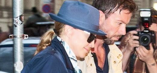 Madonna leaves Paris and arrives in Vienna [26-28 July 2012]