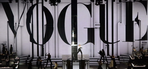 A unique and incredible look at the MDNA Tour stage by Moment Factory
