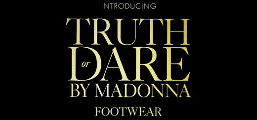 """Truth or Dare by Madonna"" Footwear Pop-up shop in Selfridges London"