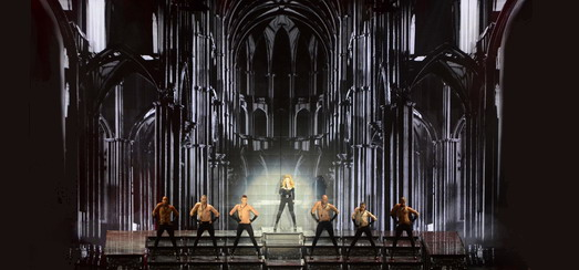 Moment Factory's Johanna Marsal & Slackliner Hayden Nickell talk MDNA Tour