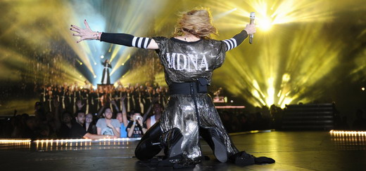 Madonna Gives Sennheiser All Her Luvin' during her MDNA Tour