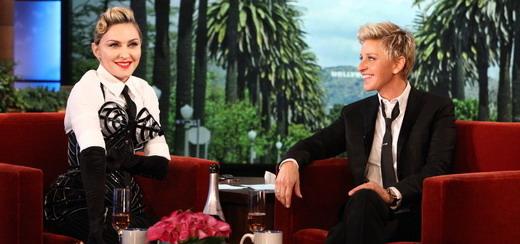 Madonna on The Ellen DeGeneres Show [16 Pictures]