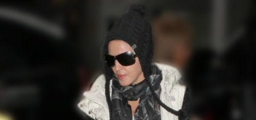 Madonna at the Kabbalah Centre, New York [12 January 2013]
