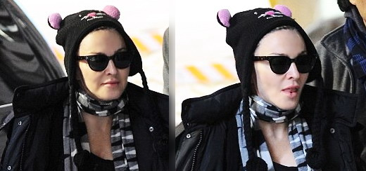 Madonna at the Kabbalah Centre, New York [2 February 2013]