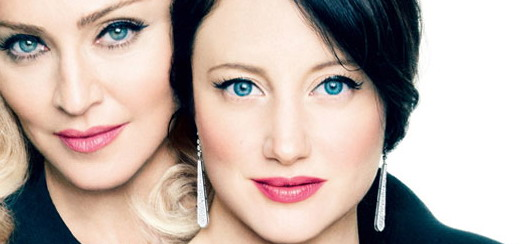 Andrea Riseborough: Madonna allows her femininity to drive her