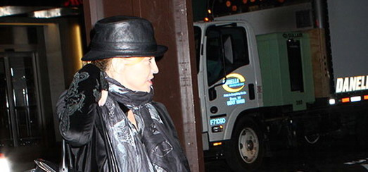 Madonna at the Kabbalah Centre, New York [15 March 2013]