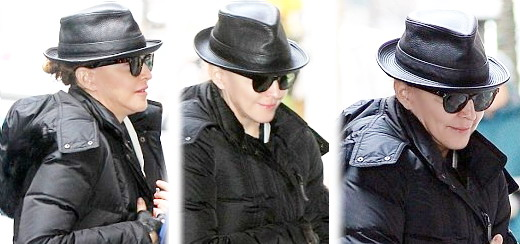 Madonna at the Kabbalah Centre, New York [23 March 2013]