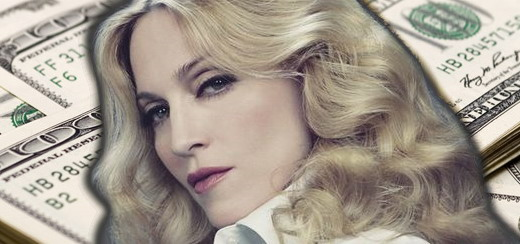 Is Madonna a billionaire or not?
