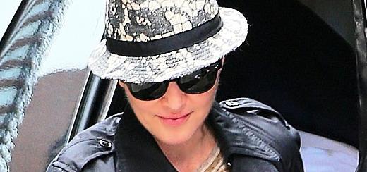 Madonna at the Kabbalah Centre, New York [13 April 2013]
