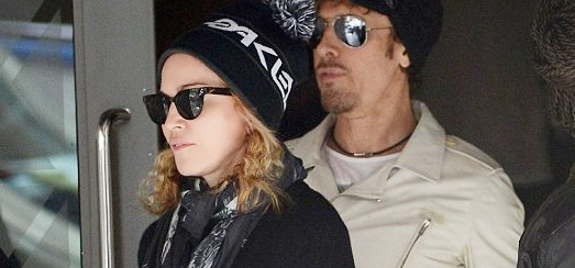 Madonna at the Kabbalah Centre, New York [27 April 2013]