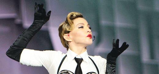 "Billboard Magazine Congratulates Madonna on her ""Top Touring Artist"" Billboard Music Award"