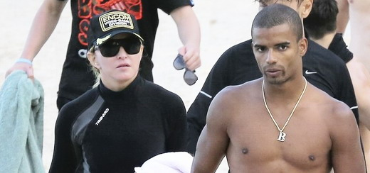 Madonna at the beach in Villefranche, France [14 August 2013 - Pictures]