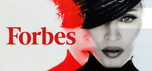 Madonna tops Forbes' most prestigious list of 2013