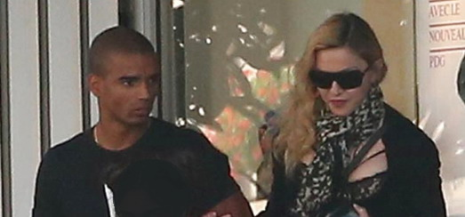 Madonna leaving the Palais des Congrès in Paris [30 August 2013 – Pictures]