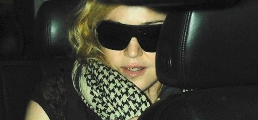 Madonna arrives at JFK airport in New York [3 September 2013]