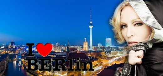 Work out with Madonna at the Grand Opening Event of her Hard Candy Fitness Club in Berlin on October 17th