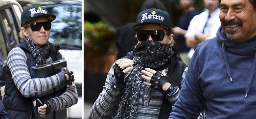 Madonna at the Kabbalah Centre in New York [2 November 2013 – Pictures]
