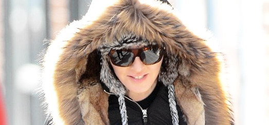 Madonna out and about on crutches in New York [17 January 2014 – Pictures]