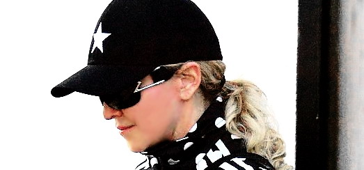 Madonna and Timor Steffens working out in Los Angeles [29 January 2014 - Pictures]