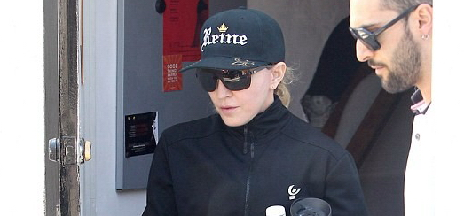 Madonna out and about in Los Angeles [16 April 2014 – Pictures]
