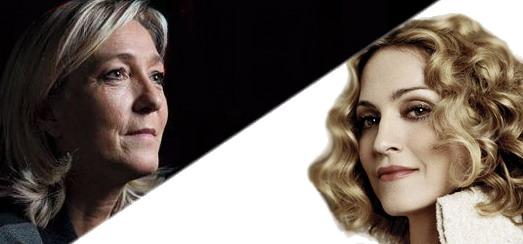 "France's far-right Front National party calls Madonna ""Granny Gaga"""