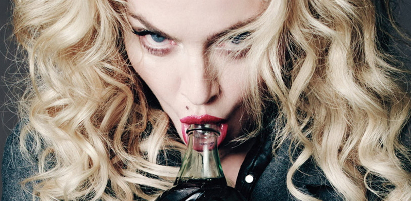 Never-before-seen Madonna picture for the official 2015 Calendar