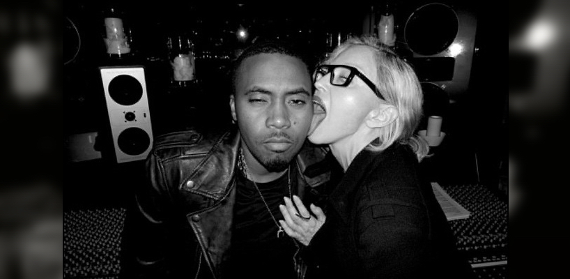 Rapper Nas is collaborating with Madonna
