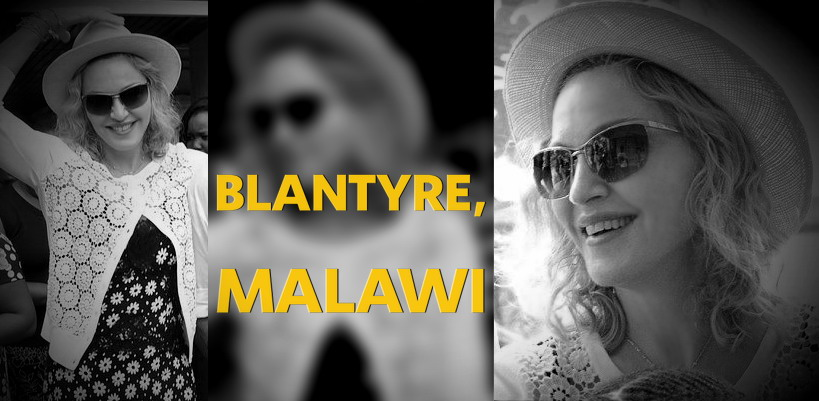 Madonna visits Queen Elizabeth Central Hospital in Blantyre, Malawi [27 November 2014 – Pictures]
