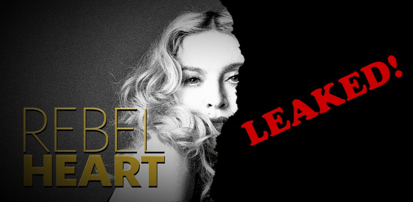 "Brazilian Madonna fan site leaks ""Rebel Heart"""