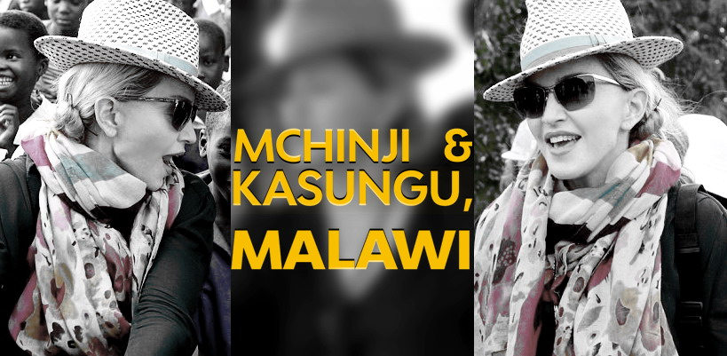 Madonna visits Kasungu and Mchinji in Malawi [29-30 November 2014 - Pictures]