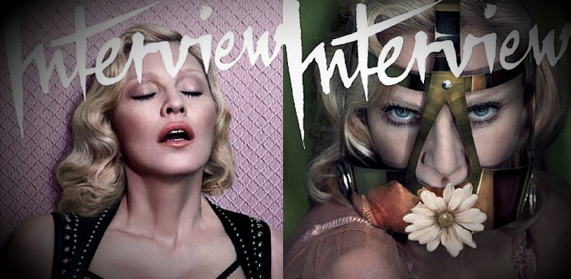 New Madonna photoshoot for Interview Magazine revealed