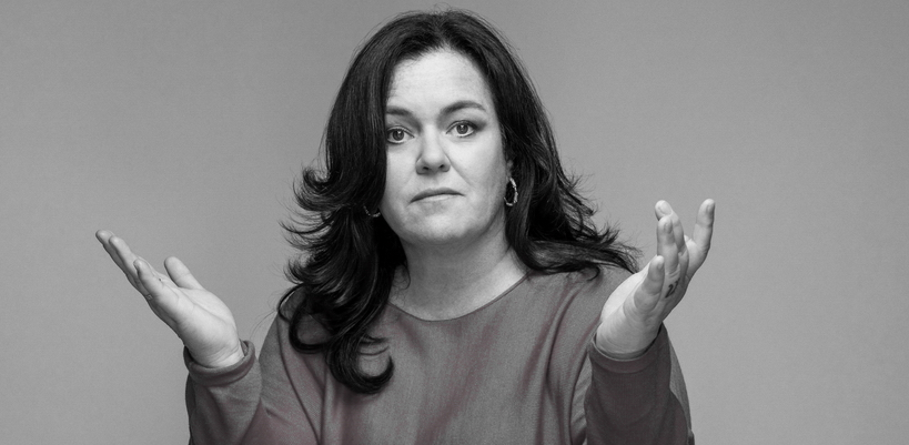Rosie O'Donnell: If my titties looked like that, I'd be nude right now