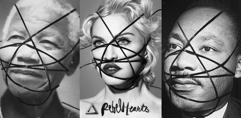 "Madonna justifies her references to Luther King, Nelson Mandela: ""Lets celebrate them!"""