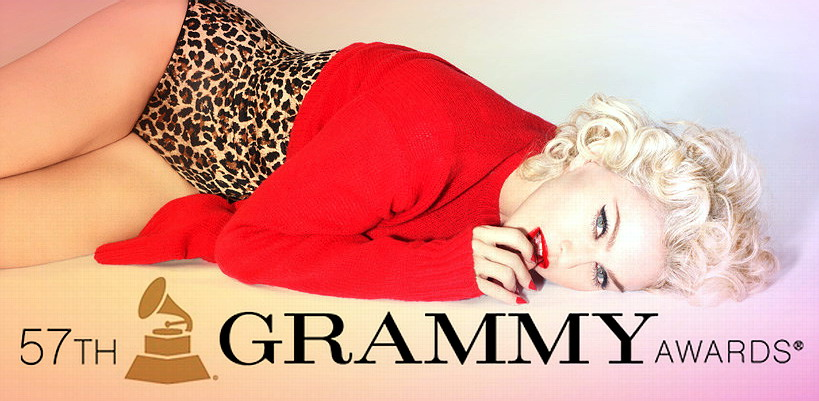 Madonna will be performing at the 57th GRAMMY Awards on February 8th