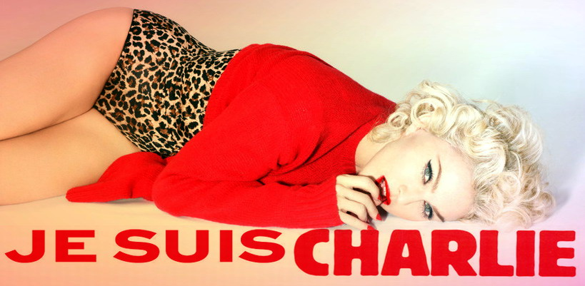 Charlie Hebdo acknowledges Madonna's support after the Instagram controversy