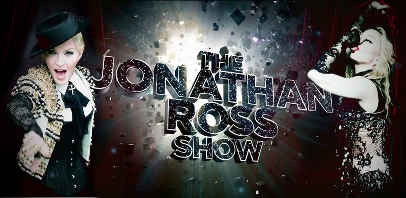 "[Update: Win tickets to the Jonathan Ross Show] Madonna to perform two songs on ""The Jonathan Ross Show"""