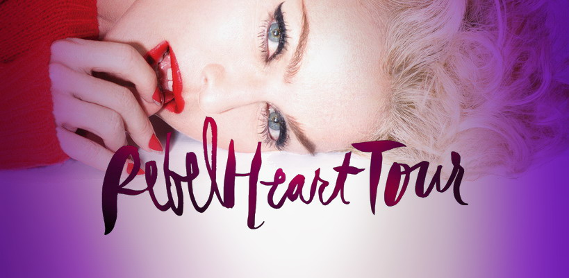Join Madonna on stage at the Rebel Heart Tour in Sydney