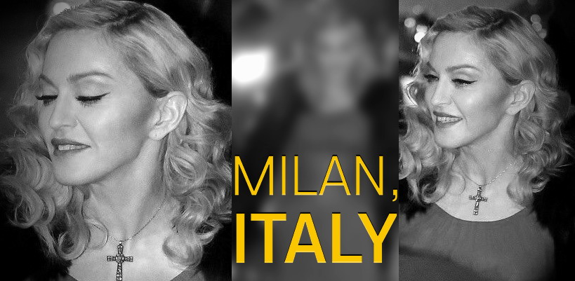 Madonna at the Che Tempo Che Fa taping in Milan [1 March 2015 – Pictures]