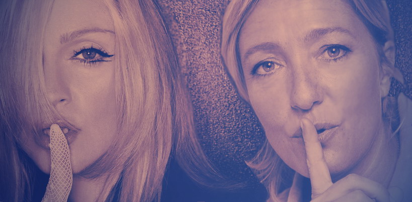 Marine Le Pen accepts Madonna's invitation for a drink