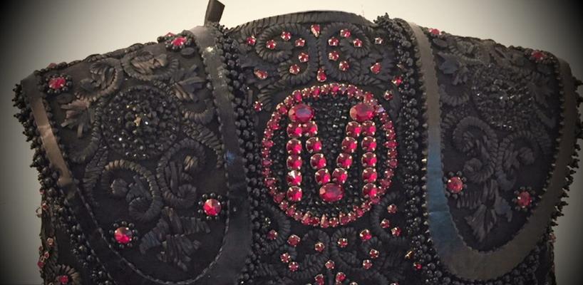 Madonna wears custom Nicolas Jebran Matador inspired jacket at the 2015 Brit Awards