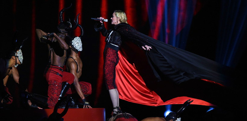 Giorgio Armani blames Madonna for the BRIT Awards fall