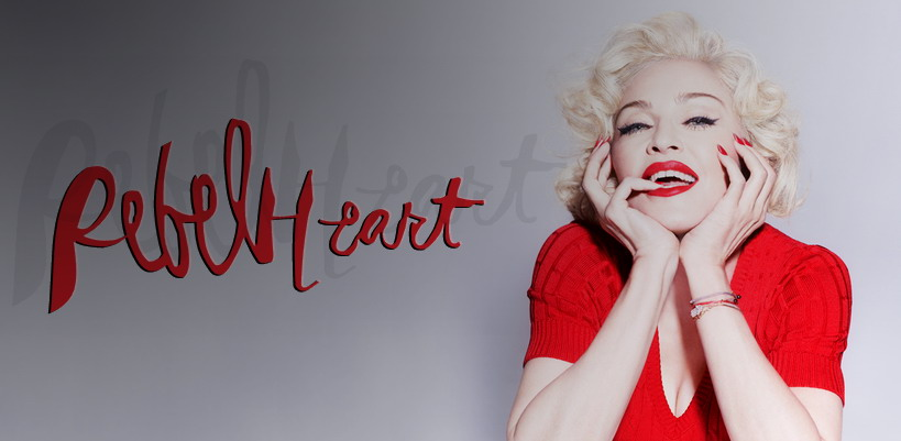 Win exclusive official Rebel Heart promo packs with Madonnarama