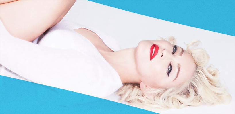 """[Update: Outtakes from the exclusive Us Weekly chat added] Madonna: """"Bitch, I'm Madonna"""" is my favorite song"""