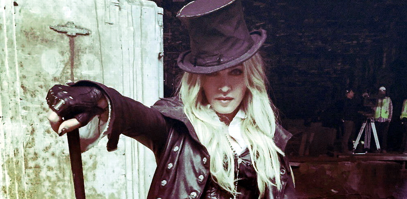 [Update: More ideas for the opening shot of the video] Madonna's New Look For 'Ghosttown'