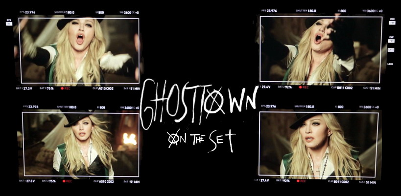 Madonna's New Video Ghosttown: Behind the Scenes
